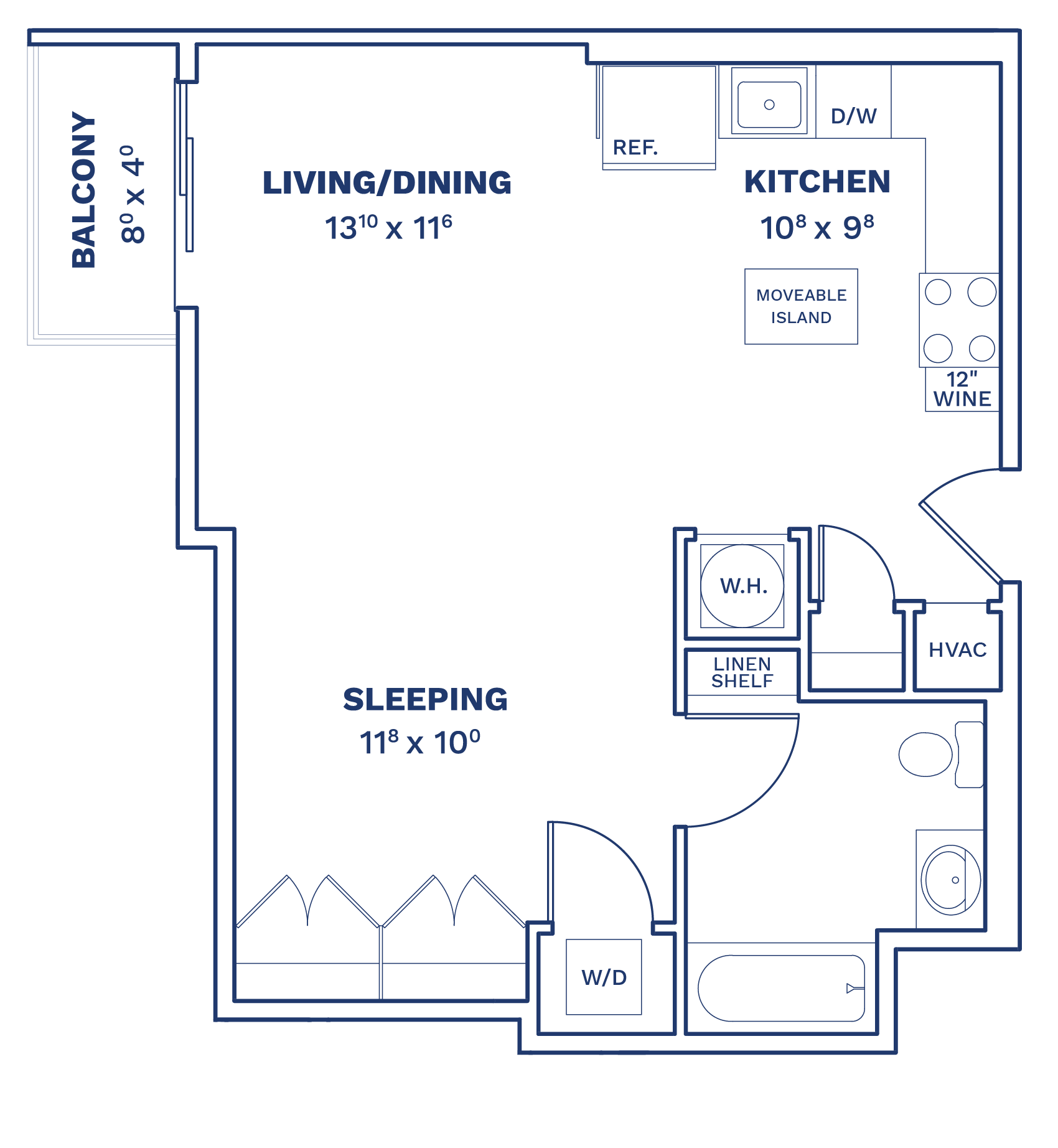 Floorplan of Unit S4