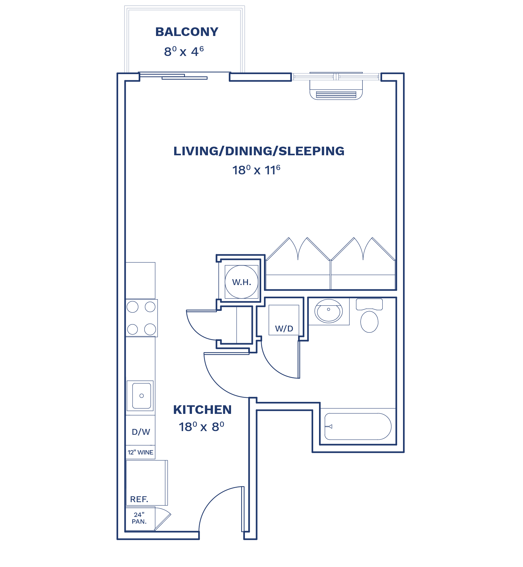 Floorplan of Unit S2