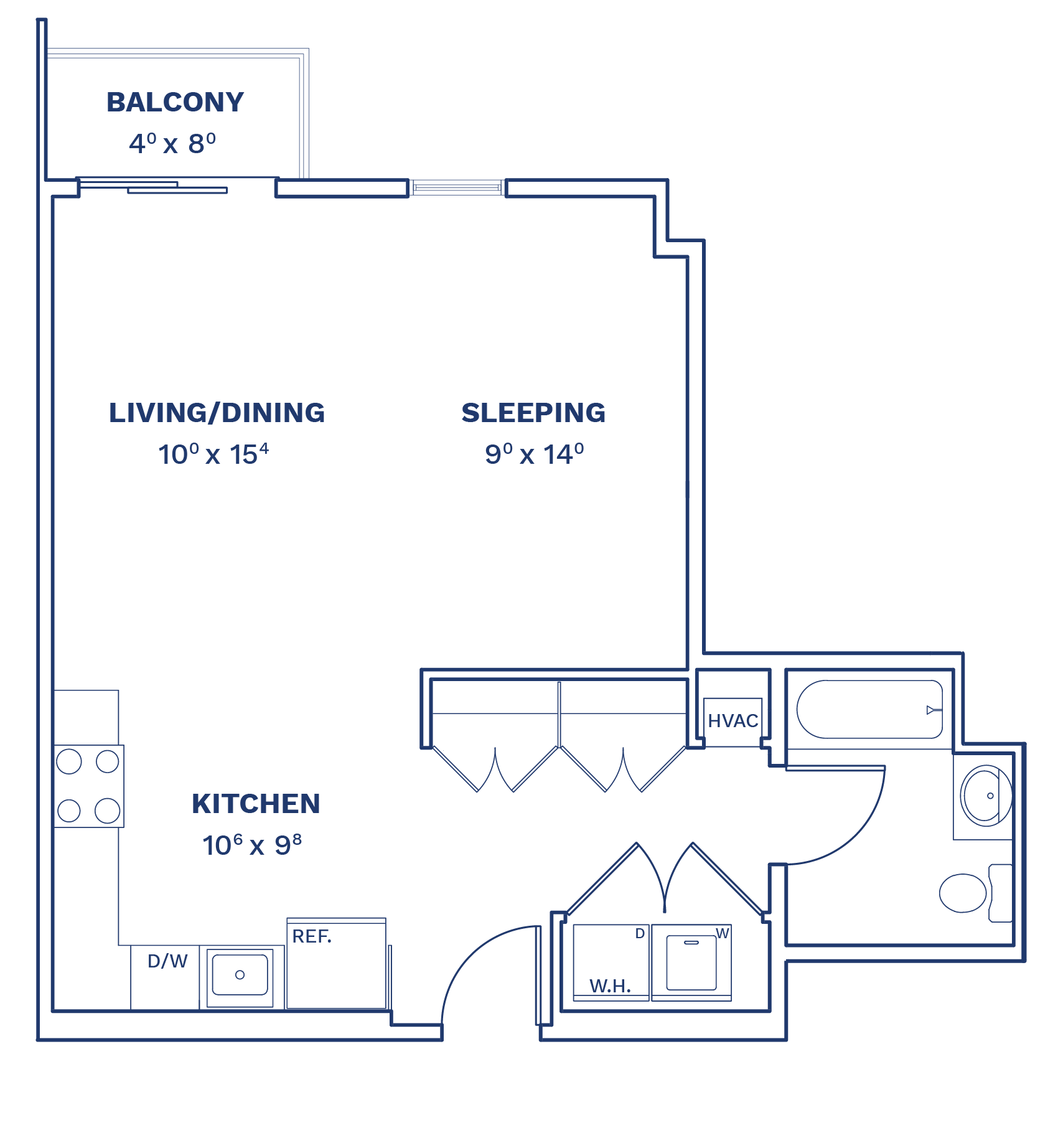 Floorplan of Unit S7