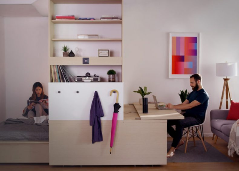High-Tech Furniture Comes to Cobalt Lofts with the Ori Studio Suite