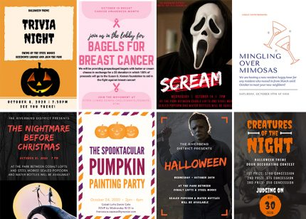 Spooktacular Resident Events All October